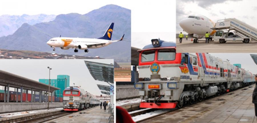 """МИАТ шинэ онгоц, """"төмөр зам"""" ухаалаг галт тэрэгтэй боллоо"""