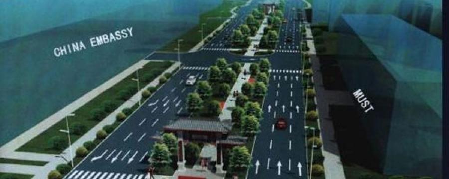 Бээжингийн гудамжны автозам урсгал тус бүртээ гурван эгнээтэй болно