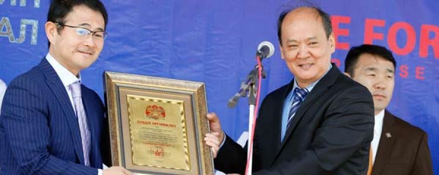 """""""Хамтдаа хөгжье"""" хүмүүнлэгийн өдөрлөг Чингисийн талбайд боллоо"""