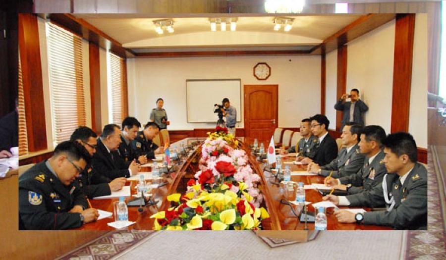 Монгол-Японы цэргийн инженерийн багийнхан хамтарна