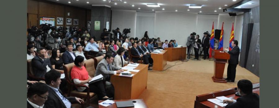Монгол Улсын Ерөнхийлөгч ухаалаг төрийн хүрээнд боловсруулж буй хуулийн төслүүдээс танилцууллаа