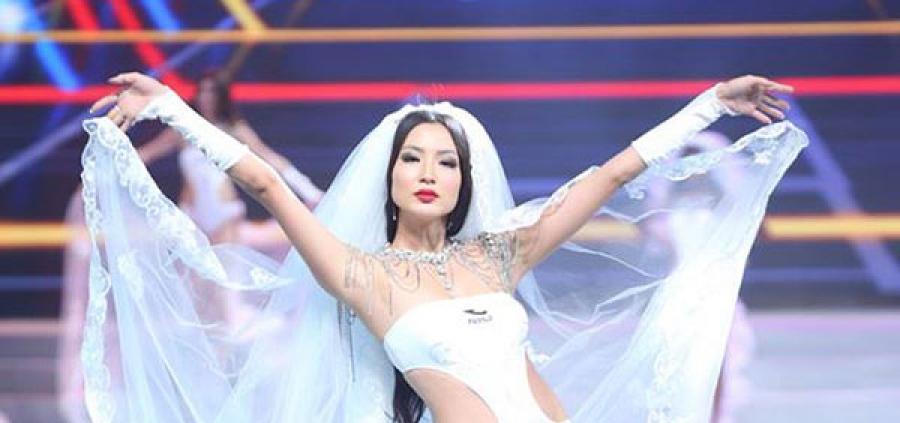 """Мисс Н.Ану """"World bikini model international 2014"""" тэмцээний дэд байрын шагнал хүртжээ"""