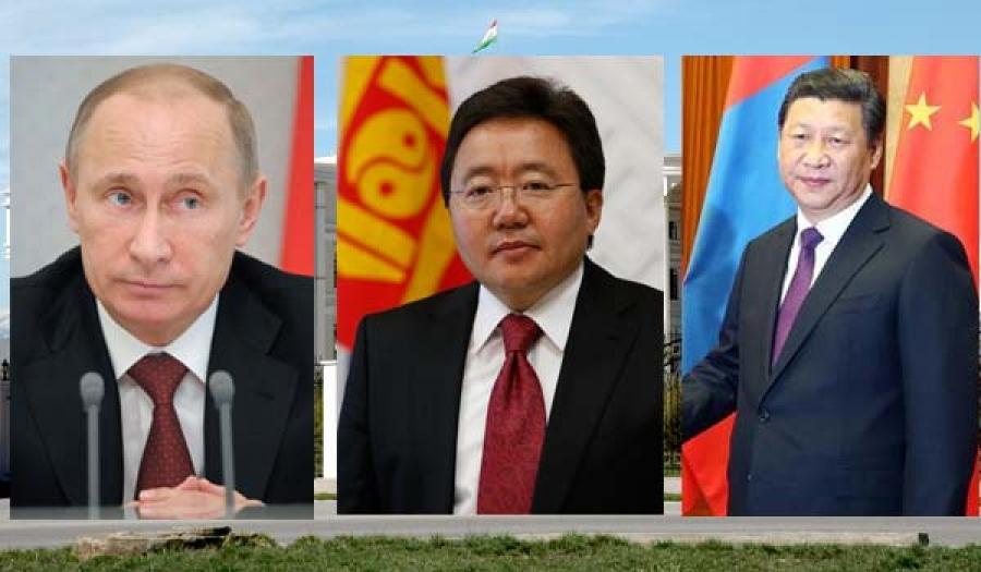 Ц.Элбэгдорж, В.Путин, Си Зиньпин нар Тажикстанд уулзана