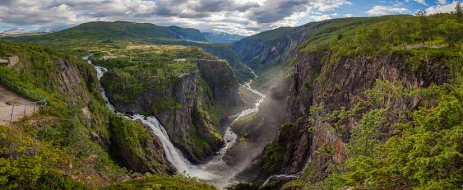 Норвегийн хамгийн үзэсгэлэнтэй хүрхрээнүүд