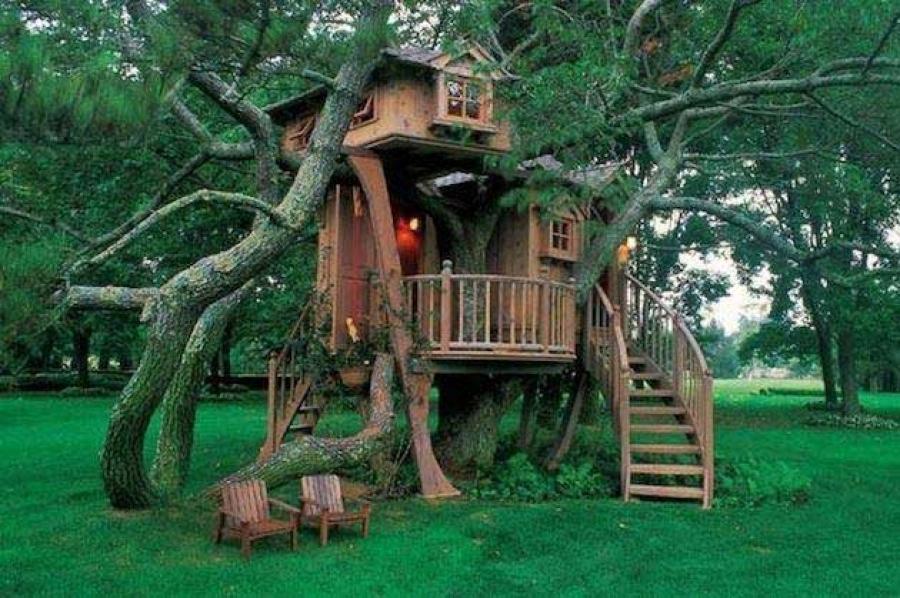Хүүхдийн үлгэрийн мэт байшингууд
