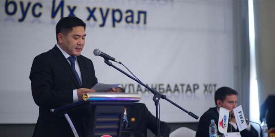 МХБХ-ны Ерөнхийлөгчөөр А.Ганбаатар сонгогдлоо