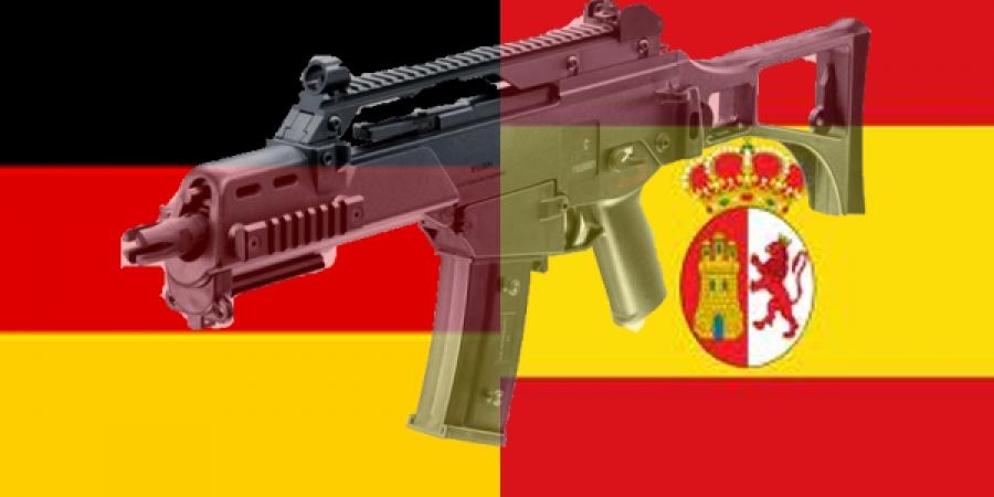 Германчууд голох нь Испанид хамаагүй