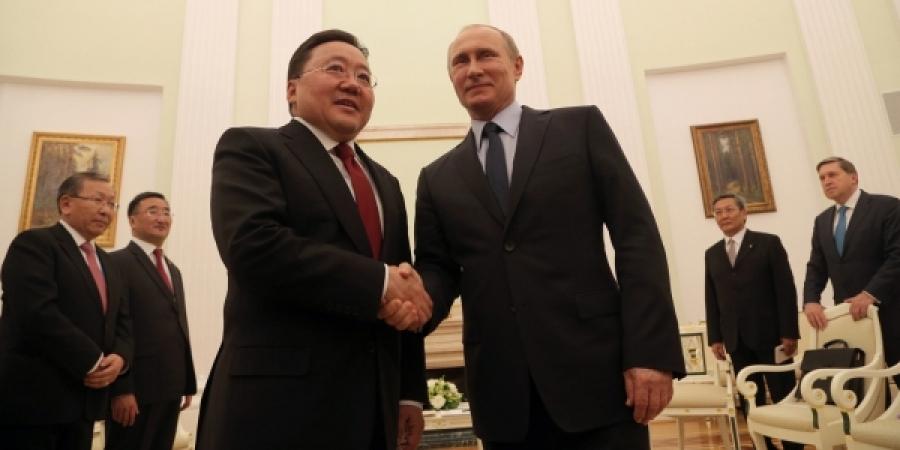 Монгол Улсын Ерөнхийлөгч Ц.Элбэгдорж, Оросын Холбооны Улсын Ерөнхийлөгч В.В.Путин нар уулзлаа