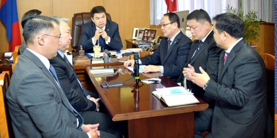 Монгол Улсын Ерөнхий сайд Ч.Сайханбилэгт танилцуулга ирүүллээ