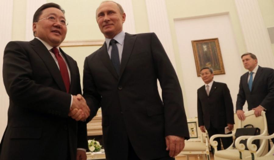 Хоёр улсын ерөнхийлөгч уулзлаа