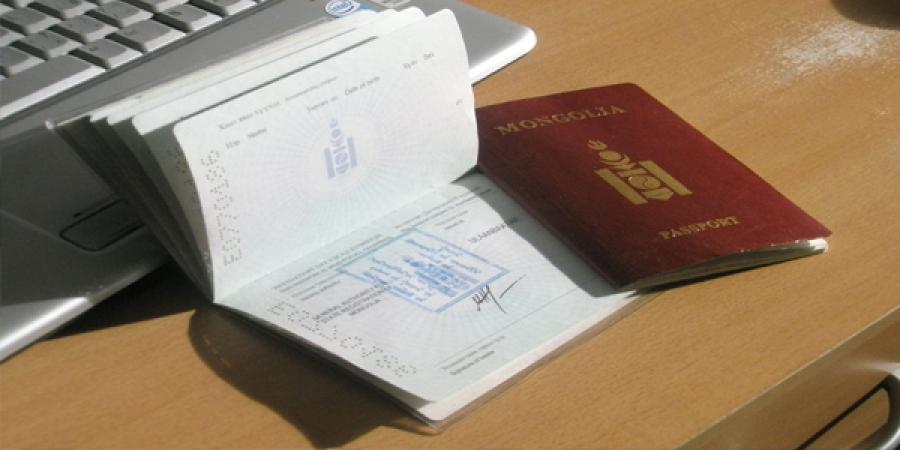"""Ачааллыг тэнцвэржүүлэх зорилгоор  гадаад паспорт """"яаралтай"""" сунгах үйлчилгээг түр хугацаанд зогсоожээ"""