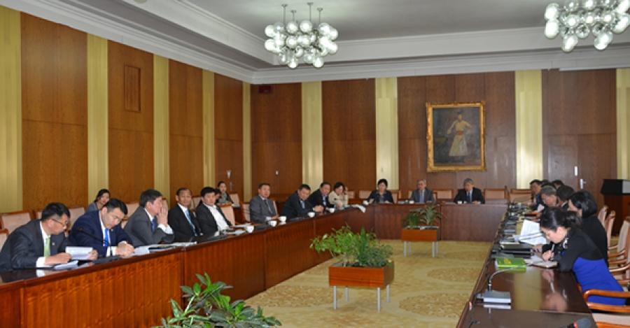 АН-ын бүлэг Эдийн засгийн өршөөлийн тухай хуулийн төслийг хэлэлцэж байна
