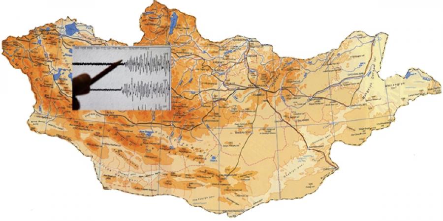 Увс аймагт  3,72 магнитутын хүчтэй газар хөдлөлт боллоо