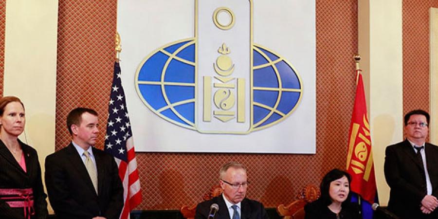 АНУ, Монголын худалдаа, хөрөнгө оруулалтын хэлэлцээр боллоо