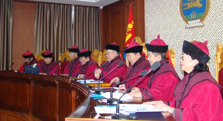 Улсын Их Хурлын 54 дүгээр тогтоол нь хууль зөрчөөгүй гэв