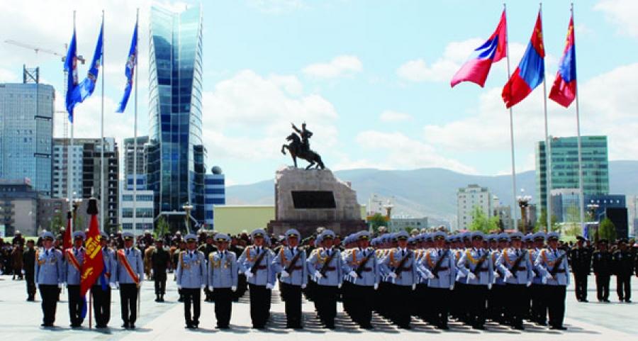 Өнөөдөр цэргийн сүр хүчийг Чингисийн талбайд харуулна