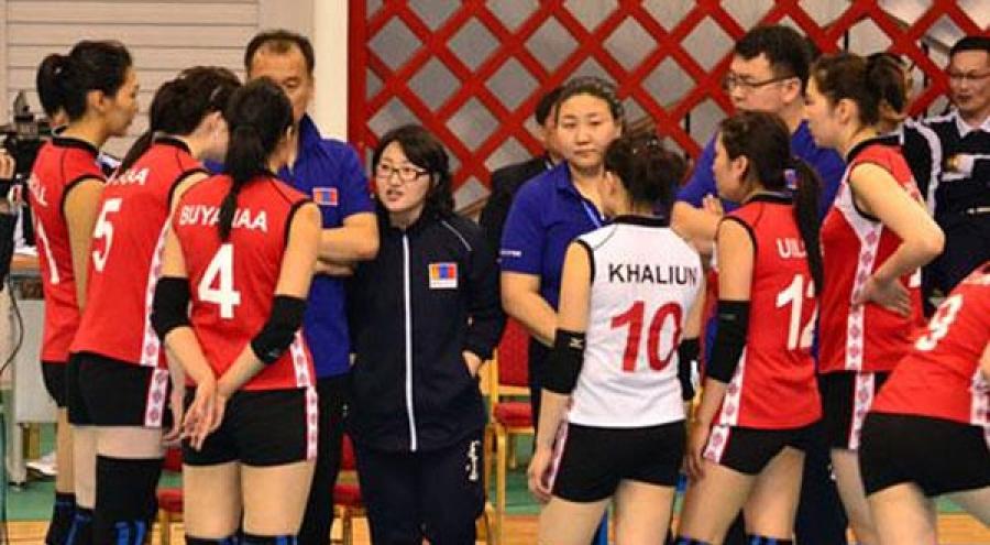 Эмэгтэй  волейболчид шөвгийн наймд үлдэж чадсангүй