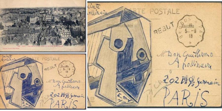 Пикассогийн гарын үсэгтэй ил захидлыг дуудлагаар худалдав