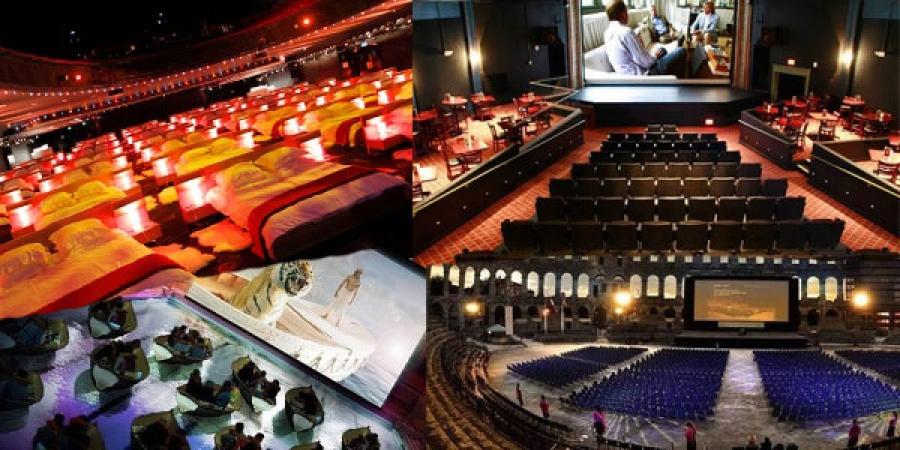 Дэлхийн хамгийн гайхалтай 14 кино театр