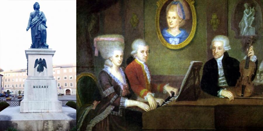 В.А.Моцарттой холбоотой баримтууд