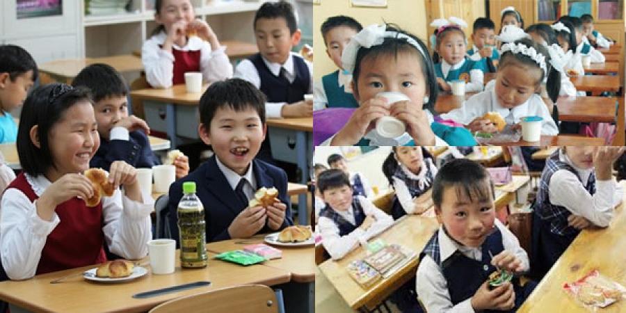 Сурагчид үдийн хоолноосоо хорджээ