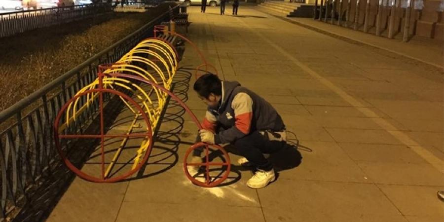 Улаанбаатар хотын 10 байршилд унадаг дугуйн зогсоол байгууллаа