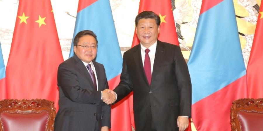 Монгол, Хятадын харилцаа, хамтын ажиллагааны баримт бичигт гарын үсэг зурах ёслол боллоо