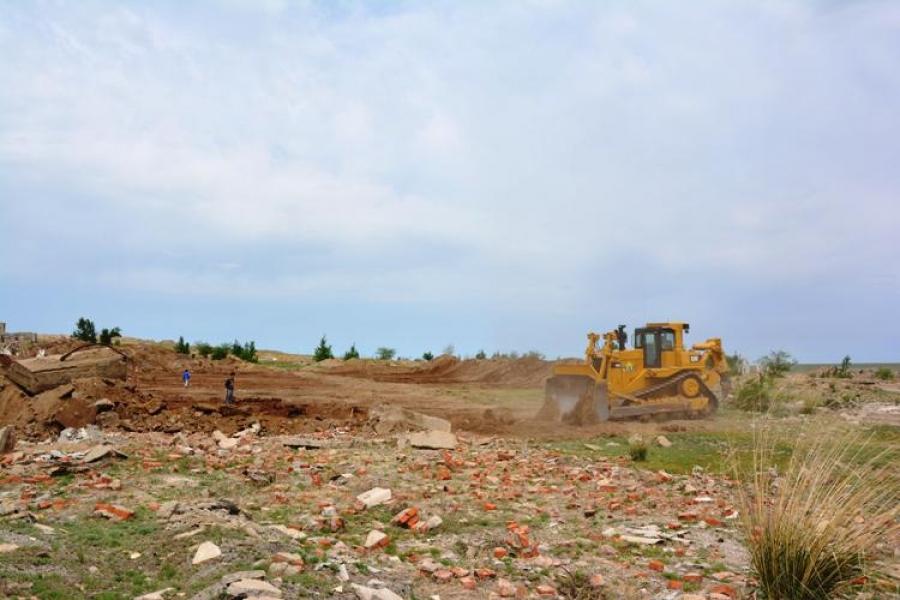 Чойбалсан хотын хөрс Монгол улсын дунджаас 1,9 дахин их эвдрэлд оржээ