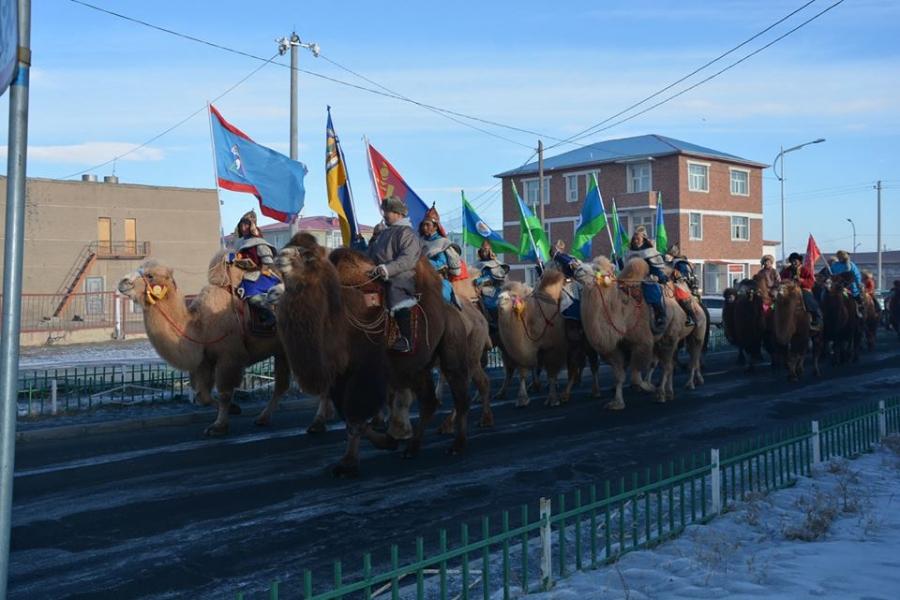 """Алтай хотод """"Тэмээний баяр"""" болж байна"""