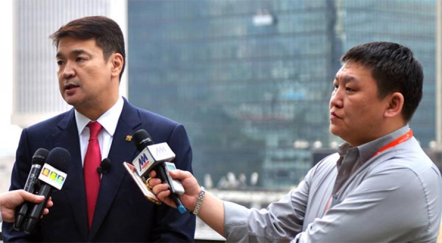 Ерөнхий сайд Ч.Сайханбилэг Хонконгт хийсэн айлчлалаа дүгнэж ярилцлага өгчээ