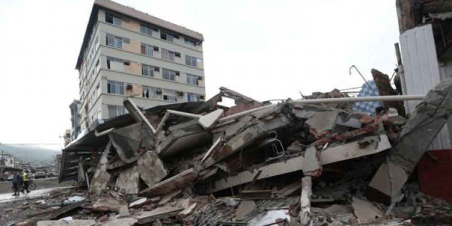 Эквадорт 7.8 магнитудын хүчтэй газар хөдлөлт болов