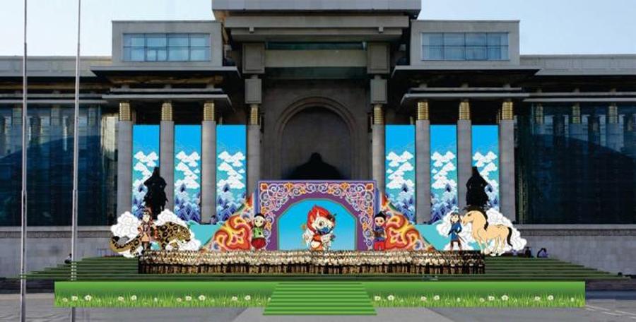 Олон улсын хүүхдийн эрхийг хамгаалах өдрийг Чингисийн талбайд тэмдэглэнэ