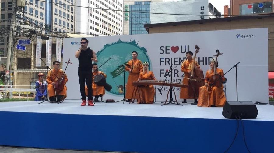 """""""Seoul friendship fair-2016"""" наадамд Улаанбаатар хотыг сурталчиллаа"""