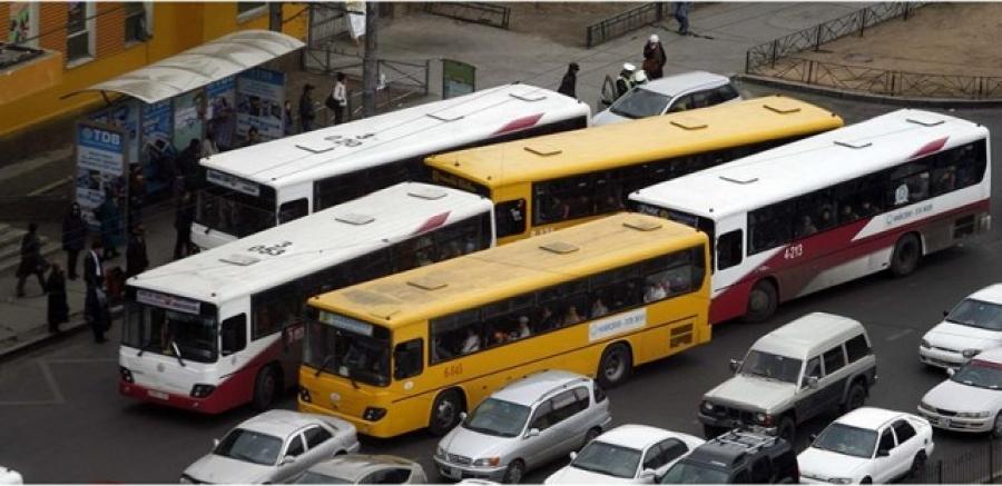 Нийтийн тээврийн чиглэлд өөрчлөлт орно