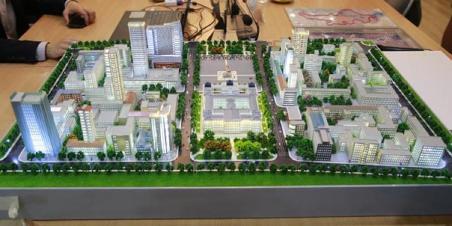 Хотын ерөнхий төлөвлөгөөг бүхэлд нь харуулсан макет хийнэ