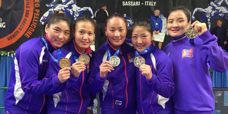 Чөлөөтийн эмэгтэйчүүд 3 алт, 2 хүрэл медаль хүртлээ