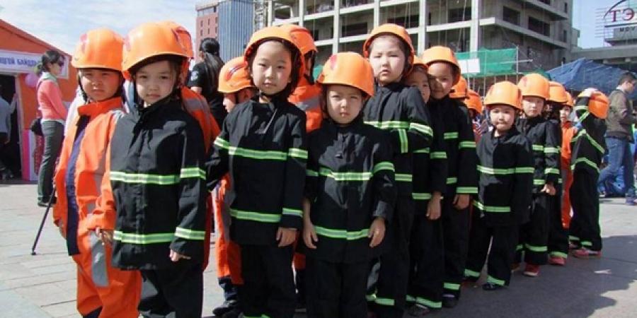 Цэцэрлэгийн хүүхдүүд аюулгүй амьдрах арга ухаанд суралцлаа