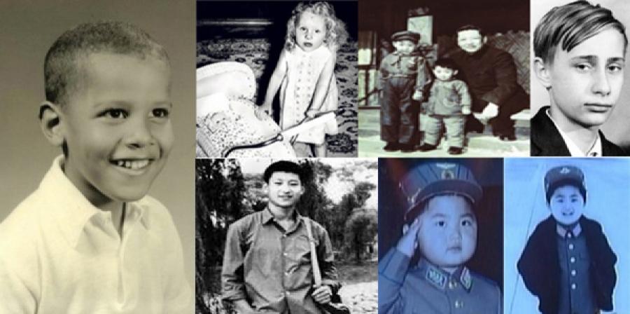 Дэлхийн удирдагчдын хүүхэд нас