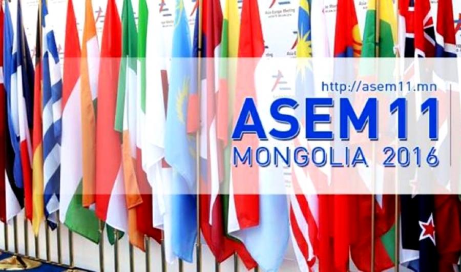 АСЕМ-ын Сангийн сайд нарын уулзалт эхэллээ