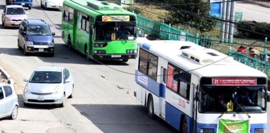 Хонхорын нийтийн тээврийн чиглэлд өөрчлөлт орлоо