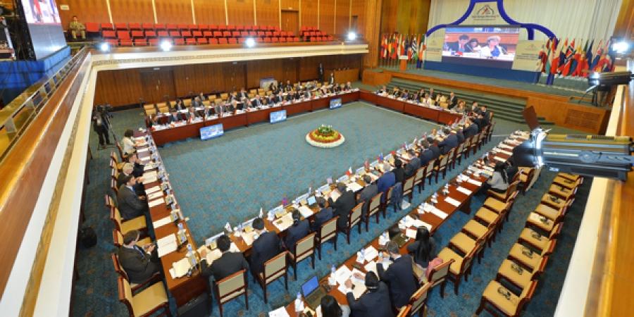 Ази-Европын Сангийн сайд нарын 12 дугаар уулзалт боллоо