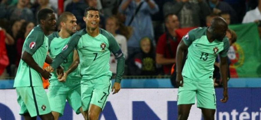 Евро 2016:Польш, Португал, Уэльсийн багууд шилдэг наймд шалгарлаа