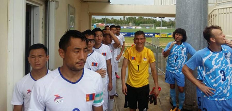 Монголын шигшээ баг Умард Марианы арлуудын багийг бут ниргэлээ