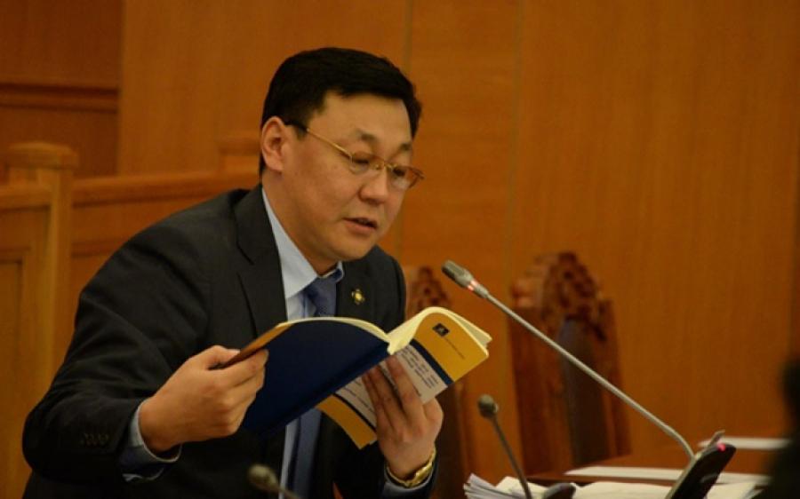 Монгол улсын 29 дэх Ерөнхий сайдад Ж.Эрдэнэбатын нэрийг дэвшүүллээ