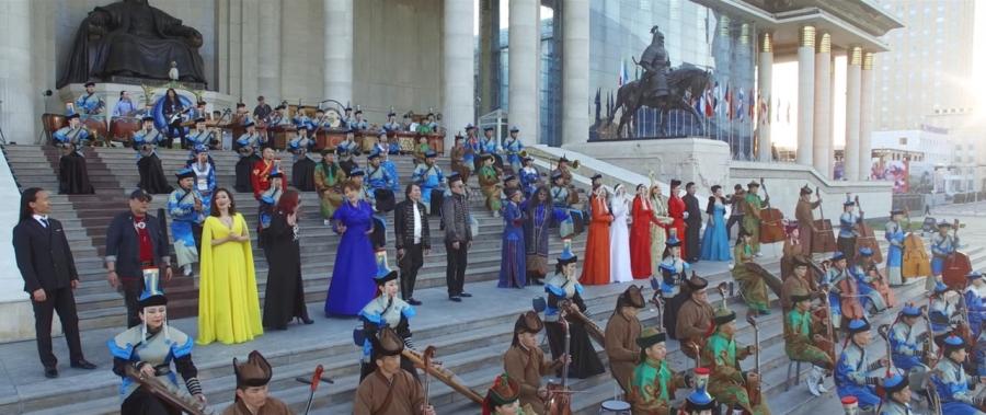 Наадмын сүлд дуу - Миний монголын наадам