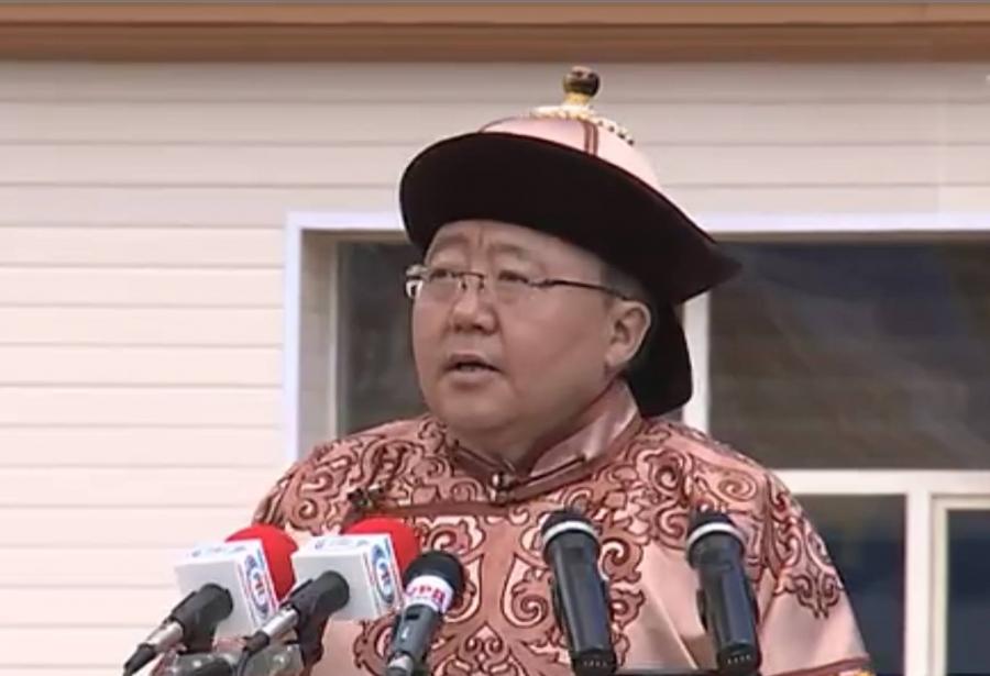 Ц.Элбэгдорж: Монгол түмнийхээ их буян заяа, босоо хийморт үеийн үед залбирч явах болно