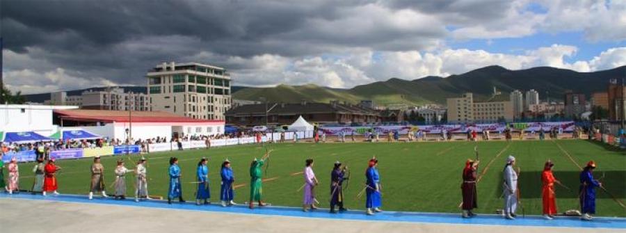 Монгол Улсын мэргэн цолтон хоёр төрлөө