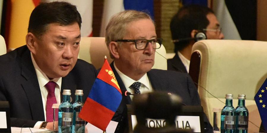 М.Энхболд: Ази-Европын Дээд түвшний уулзалтын ажиллагаанд амжилт хүсье