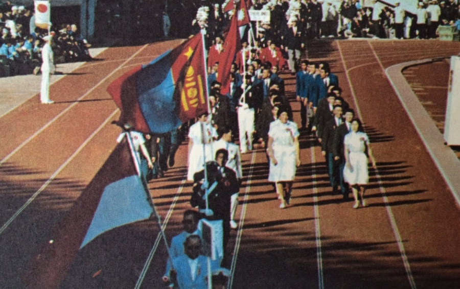 Олимпын гараа - Токио 1964