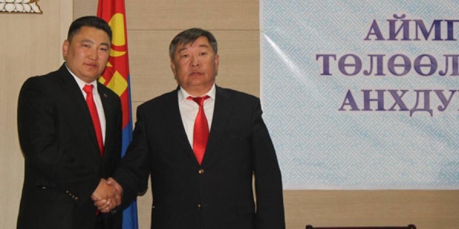 Говь-Алтай аймгийн Засаг даргаар Б.Рэнцэндорж сонгогдлоо